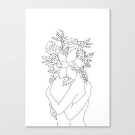 Blossom Hug Canvas Print