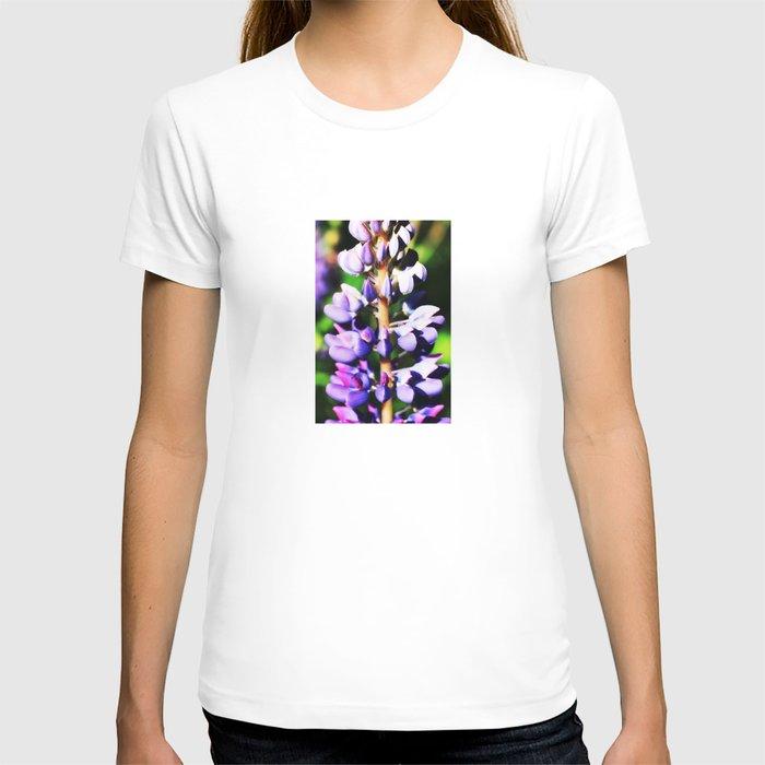 Lupine close up T-shirt