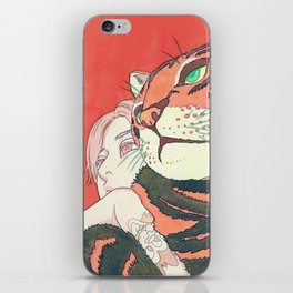 Thunder & Ding iPhone Skin