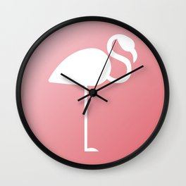 The Flamingo Wall Clock
