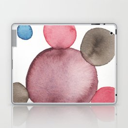 Color Sphere Circle Watercolor Laptop & iPad Skin