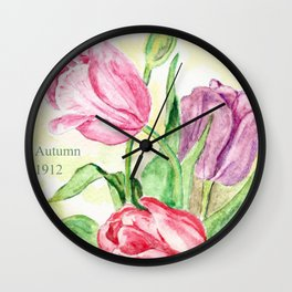 Old Bulbs & Seeds Pack Wall Clock