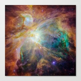 View of Orion Nebula Canvas Print
