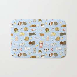 Guinea Pig Party! - Cavy Cuddles and Rodent Romance Bath Mat