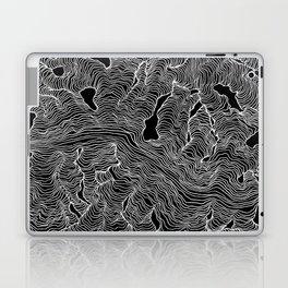 Inverted Enveloping Lines Laptop & iPad Skin