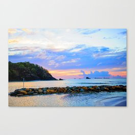 An Evening Glow Canvas Print