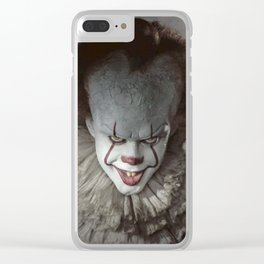 Pennywise The Clown Clear iPhone Case