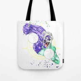 Face Off - Merged Zamasu Tote Bag