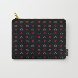 Black Apples Carry-All Pouch