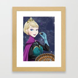 do you want to eat some chocolate? Framed Art Print