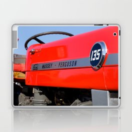 Massey Ferguson 135 vintage tractor Laptop & iPad Skin