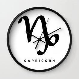 KIROVAIR ASTROLOGICAL SIGNS CAPRICORN #astrology #kirovair #symbol #minimalism #home #decor Wall Clock