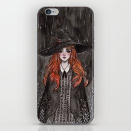 Ginger Witch- Day5 Inktober iPhone Skin