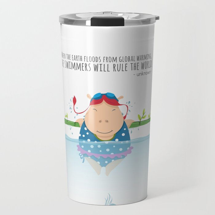Tifanny - Swimmer Travel Mug
