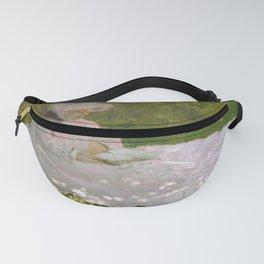 Claude Monet - Springtime Fanny Pack
