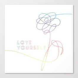 BTS Love Yourself Her O Version Canvas Print