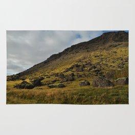 ICELAND TRAVEL: Lava Fields Landscape Rug