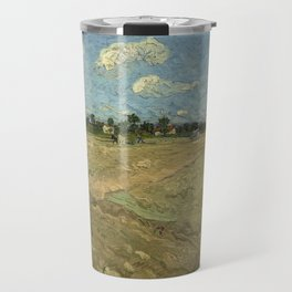 Ploughed fields ('The furrows') Travel Mug