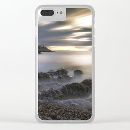 Bracelet Bay and Mumbles lighthouse Clear iPhone Case