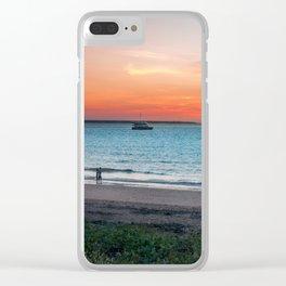 Sunset in Darwin, Australia Clear iPhone Case