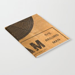 Sam the Record Man Vintage Notebook