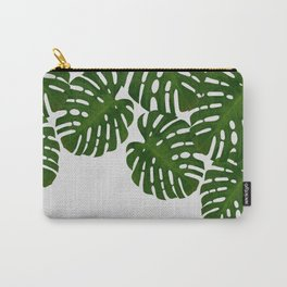 Monstera Leaf I Carry-All Pouch