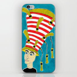 1920's English Cloche iPhone Skin