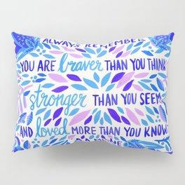 Always Remember – Indigo Palette Pillow Sham
