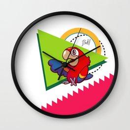Parrot Pal Wall Clock