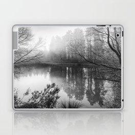 Misty Mallards Pike in Monochrome Laptop & iPad Skin