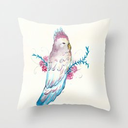 Cacatua Throw Pillow