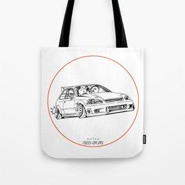 Crazy Car Art 0217 Tote Bag