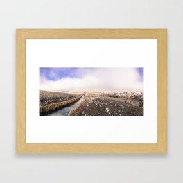 The Lone Tree Framed Art Print