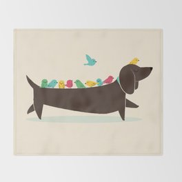 Bird Dog Throw Blanket