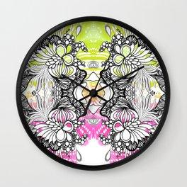 Rorshach 6 Wall Clock