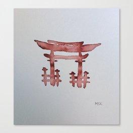 Torii Gate Canvas Print