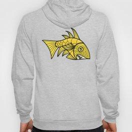Escher Fish Pattern V Hoody