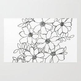 Flowers #2 Rug