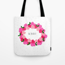 ALL THE BEST Tote Bag