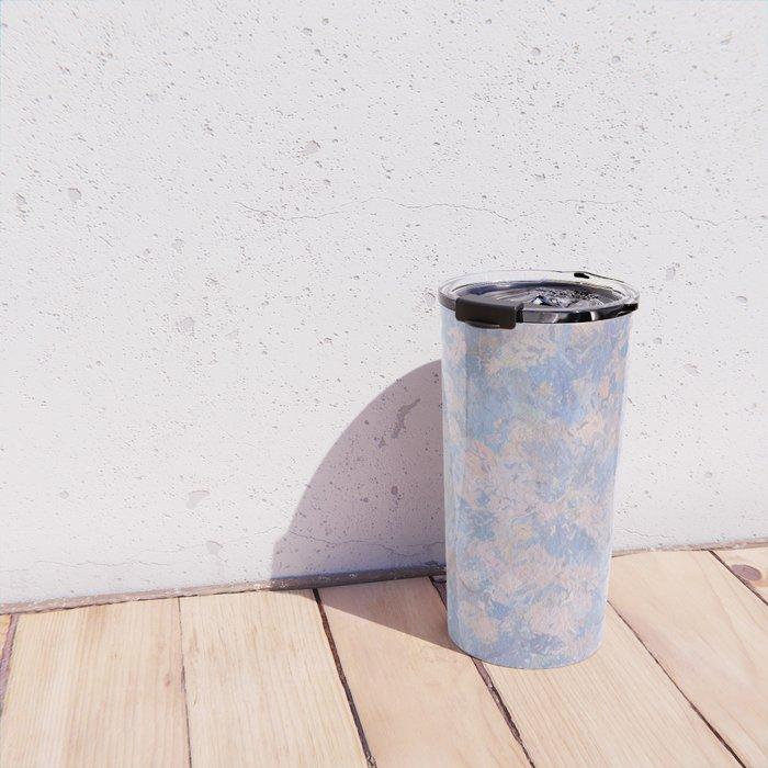Rose Quartz and Serenity Blue 4644 Travel Mug