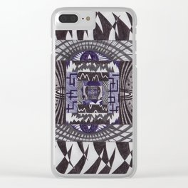 tpf_003_backdrops Clear iPhone Case