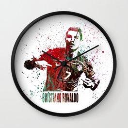 Cristiano Ronaldo #CristianoRonaldo art 2 Wall Clock