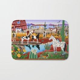 Painted Horses Bath Mat