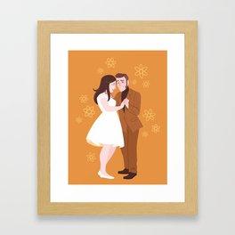 For Science, Caroline Framed Art Print