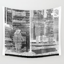 THE DEVIL AND GOD ARE RAGING INSIDE ME Wall Tapestry