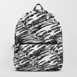 Alien Troops - Black & White Backpack