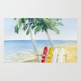 Tropical View Rug