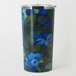 A Blueberry View Travel Mug