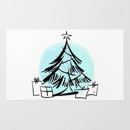 Holiday Greetings Rug