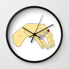 Harry Styles' Hand-- Simple Wall Clock